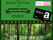 Discover The Forest & You Could Win a $100 Amazon GC from Bloggin' Mamas. Ends 10-13-15. US 18+.