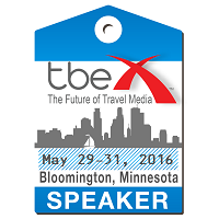 I'm a Speaker at TBEX North America 2016