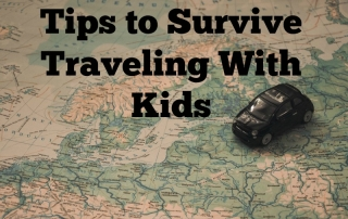 Tips to Survive Traveling With Kids
