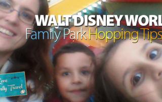WDW Family Park Hopping Tips