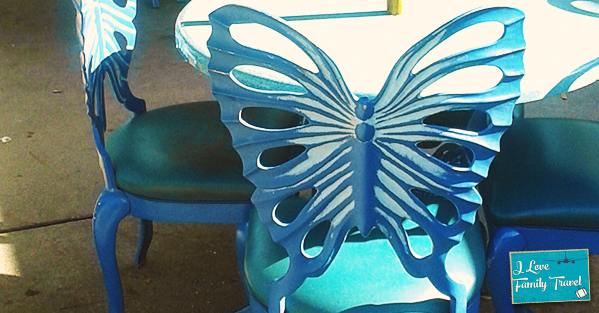 Animal Kingdom Butterfly Chair