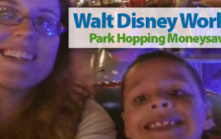 Walt Disney World Park Hopping Moneysavers