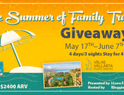The Summer of Family Travel Giveaway and #FamilyTravelChat Win a $2400 resort stay for 4 at Velas Vallarta and more prizes from AquaVault. Chat rsvp: bit.ly/summerftcrsvp