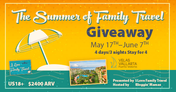 The Summer of Family Travel $2400 Giveaway & #FamilyTravelChat