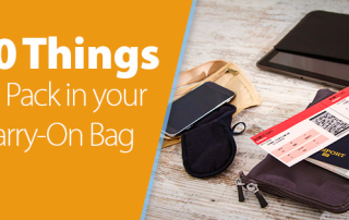 Ten Things to Pack in Your Carry On Bag I Love Family Travel