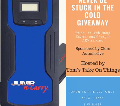 giveaway jump starter