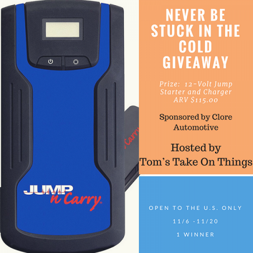 Never Be Stuck in the Cold Giveaway- Ends 11-20-17